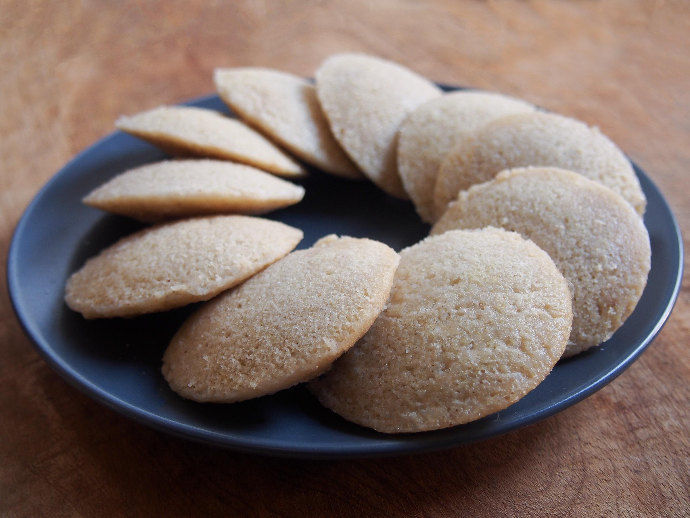 Idlis au riz long blanc de Camargue et aux lentilles corail (sans gluten)