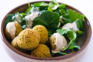 Falafels, sans gluten et vegan