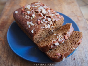 Cake à l'orange vapeur, sans gluten et vegan