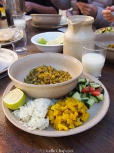 Repas ayurvédique, équilibre Pitta