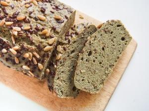 Cake millet-ortie, sans gluten et vegan, cuisson vapeur