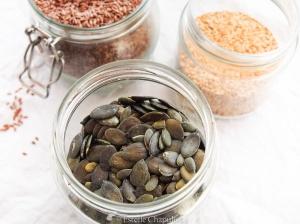 Zoom nutrition sur quelques graines oléagineuses.