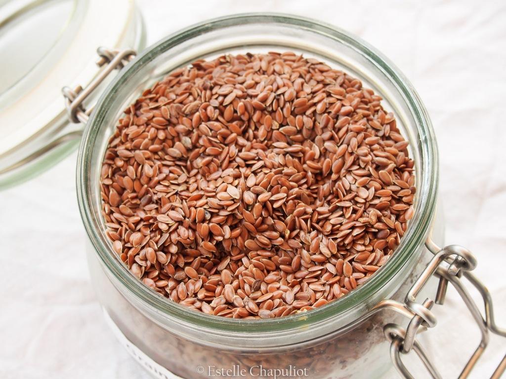 Graines de lin brun, origine France et biologiques