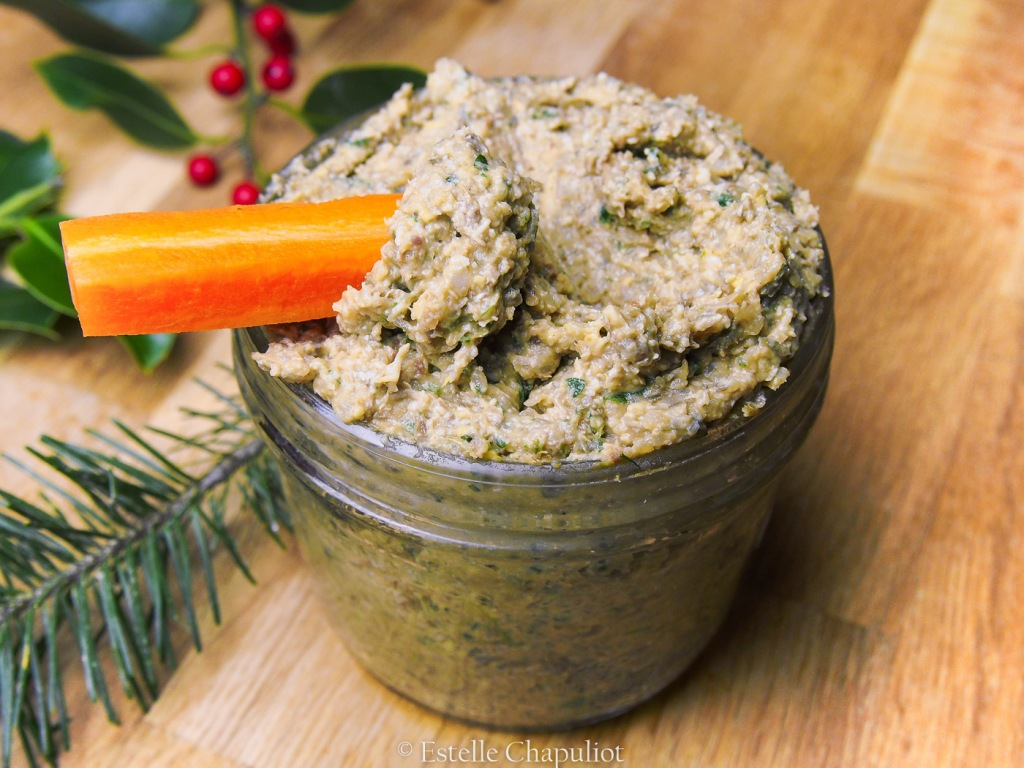 Pâté végétal au sarrasin, lentilles vertes, persil et miso