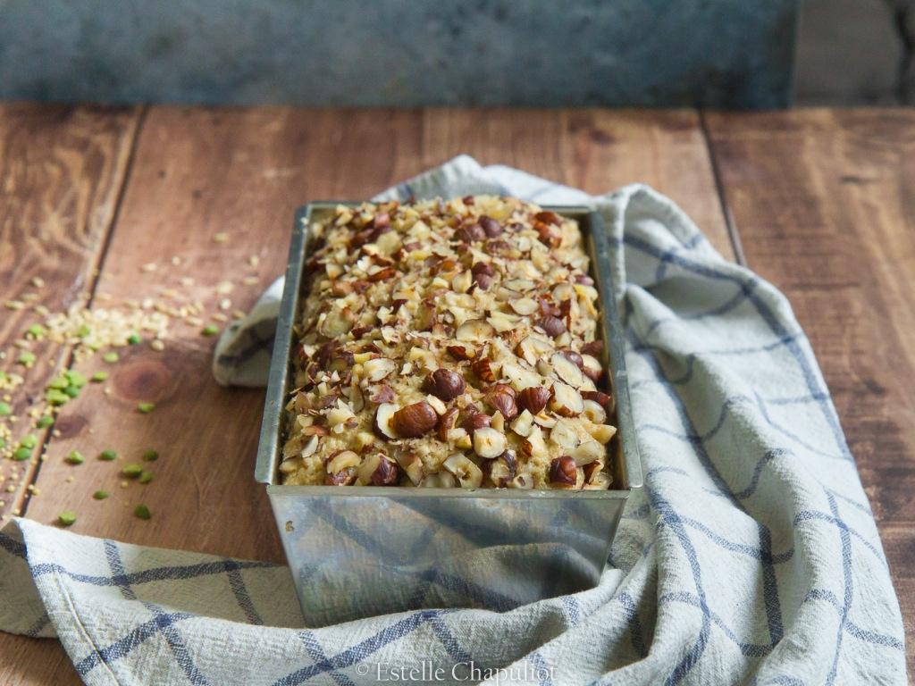 Pain aux grains de millet - riz complet - pois cassés, sans gluten, cuit vapeur