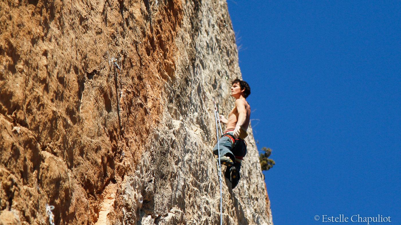 Maxime B., grimpeur, 8a+, Cimaï