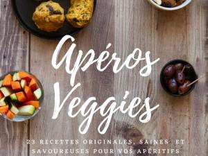 Couverture ebook Apéros Veggies - Estelle Chapuliot
