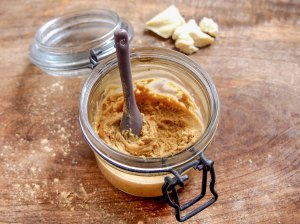 Mousses crues à la caroube du Pérou (mesquite) (sans gluten, sans lactose, sans sucre ajouté)