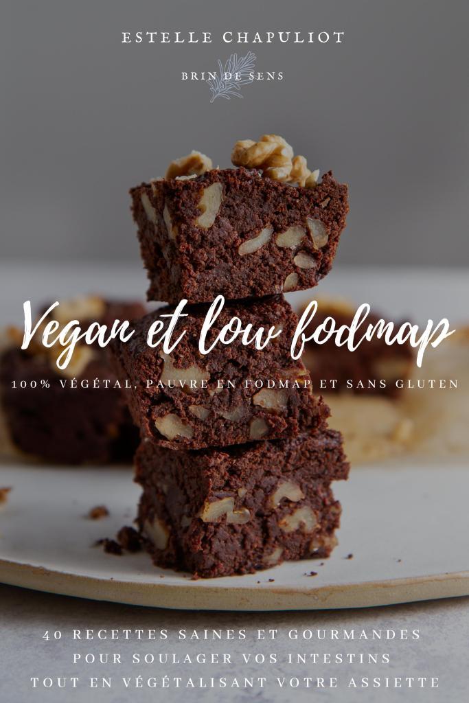 Couverture ebook 3 : Vegan et Low FODMAP (et sans gluten)